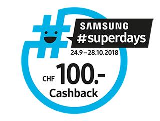 Recevez CHF 100.- de cashback