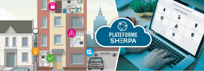 Sherpa, solutions smart building de naxoo